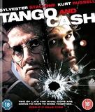 Tango And Cash - British Blu-Ray cover (xs thumbnail)