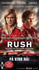 Rush - Norwegian Movie Poster (xs thumbnail)