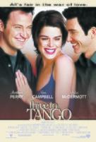 Three to Tango - Movie Poster (xs thumbnail)
