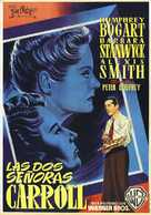 The Two Mrs. Carrolls - Spanish Movie Poster (xs thumbnail)