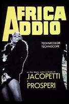 Africa addio - Italian Movie Poster (xs thumbnail)