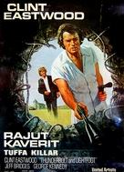 Thunderbolt And Lightfoot - Finnish Movie Poster (xs thumbnail)