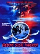 A Nightmare on Elm Street: The Dream Child - Danish Movie Poster (xs thumbnail)