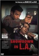 L.A. Takedown - German DVD movie cover (xs thumbnail)