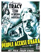 The People Against O'Hara - Belgian Movie Poster (xs thumbnail)