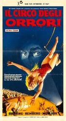 Circus of Horrors - Italian Movie Poster (xs thumbnail)