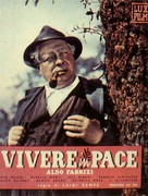 Vivere in pace - Italian Movie Poster (xs thumbnail)