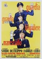 Guardia, guardia scelta, brigadiere e maresciallo - Italian Movie Poster (xs thumbnail)