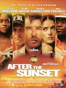 After the Sunset - Italian Advance movie poster (xs thumbnail)