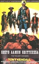 I vendicatori dell'Ave Maria - Finnish VHS cover (xs thumbnail)