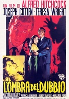 Shadow of a Doubt - Italian Theatrical movie poster (xs thumbnail)
