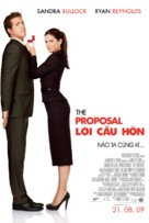 The Proposal - Vietnamese Movie Poster (xs thumbnail)