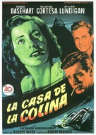 The House on Telegraph Hill - Spanish Movie Poster (xs thumbnail)