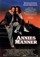 Bull Durham - German Movie Poster (xs thumbnail)