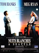 Sleepless In Seattle - French Movie Poster (xs thumbnail)
