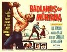 Badlands of Montana - Movie Poster (xs thumbnail)