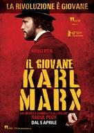 Le jeune Karl Marx - Italian Movie Poster (xs thumbnail)
