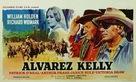 Alvarez Kelly - Belgian Movie Poster (xs thumbnail)