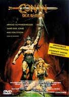 Conan The Barbarian - German DVD cover (xs thumbnail)