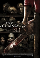 Texas Chainsaw Massacre 3D - Dutch Movie Poster (xs thumbnail)