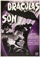 Son of Dracula - Swedish Movie Poster (xs thumbnail)