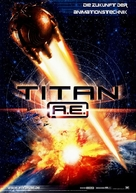 Titan After Earth - German Movie Poster (xs thumbnail)