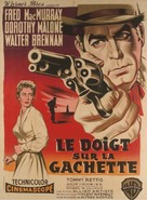At Gunpoint - French Movie Poster (xs thumbnail)