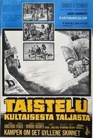 Jason and the Argonauts - Finnish Movie Poster (xs thumbnail)