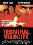 Terminal Velocity - French Movie Poster (xs thumbnail)