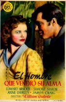The Devil and Daniel Webster - Spanish Movie Poster (xs thumbnail)