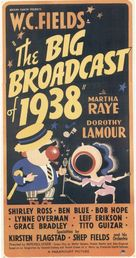 The Big Broadcast of 1938 - Movie Poster (xs thumbnail)