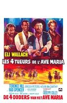 I quattro dell'Ave Maria - Belgian Movie Poster (xs thumbnail)