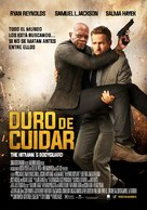 The Hitman's Bodyguard - Chilean Movie Poster (xs thumbnail)