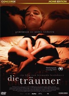 The Dreamers - German DVD cover (xs thumbnail)