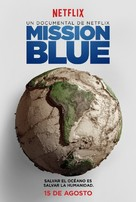 Mission Blue - Mexican Movie Poster (xs thumbnail)