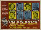 The Big Knife - British Movie Poster (xs thumbnail)