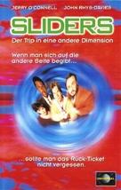 """Sliders"" - German VHS cover (xs thumbnail)"