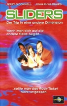 """Sliders"" - German VHS movie cover (xs thumbnail)"