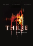 Thr3e - German Movie Poster (xs thumbnail)