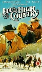 Ride the High Country - British VHS cover (xs thumbnail)