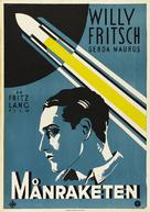 Frau im Mond - Swedish Movie Poster (xs thumbnail)