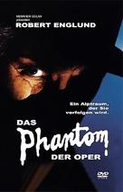 The Phantom of the Opera - German DVD movie cover (xs thumbnail)