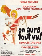 On aura tout vu - French Movie Poster (xs thumbnail)