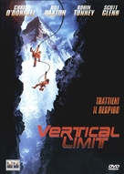 Vertical Limit - Italian DVD movie cover (xs thumbnail)