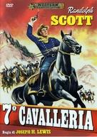 7th Cavalry - Italian DVD movie cover (xs thumbnail)