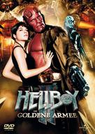 Hellboy II: The Golden Army - German Movie Cover (xs thumbnail)