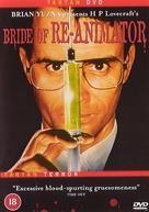 Bride of Re-Animator - British DVD movie cover (xs thumbnail)