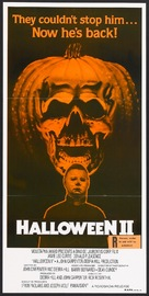 Halloween II - Australian Movie Poster (xs thumbnail)