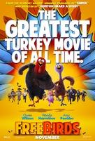 Free Birds - Movie Poster (xs thumbnail)
