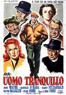 The Quiet Man - Italian Movie Poster (xs thumbnail)